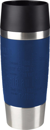 Tefal Travel Mug 0,36 liters stainless steel / blue Main Image