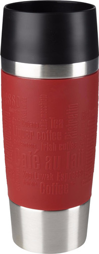 Tefal Travel Mug 0,36 liters stainless steel / red Main Image