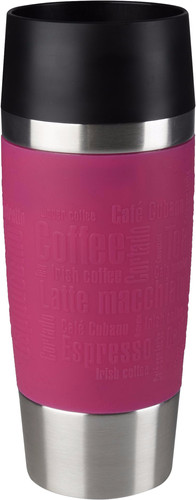 Tefal Travel Mug 0,36 liters stainless steel / raspberry Main Image
