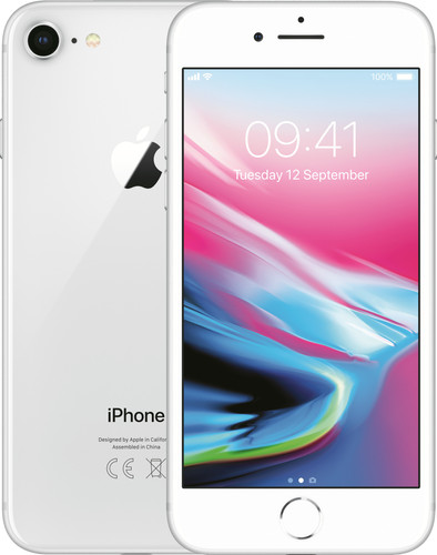 Apple iPhone 8 256GB Zilver Main Image