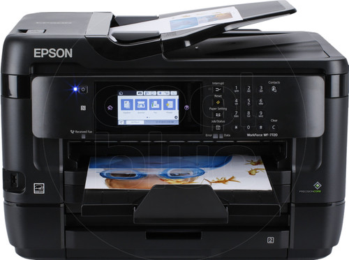 Epson WorkForce WF-7720DTWF Main Image