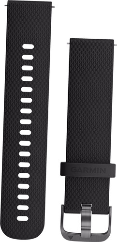 Garmin Vivoactive 3 Silicone Watch Strap S Black/Gray Main Image