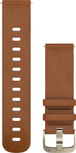Second Chance Garmin Vivomove HR Leather Watch Strap S - Brown Main Image