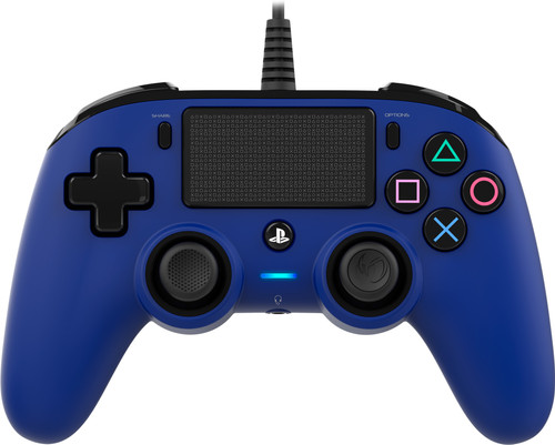 Nacon PS4 Official Wired Controller Blauw Main Image