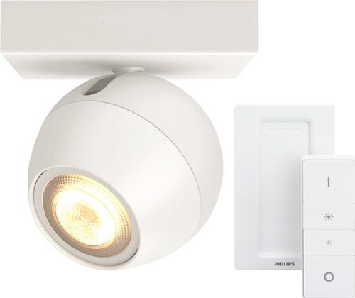 Philips Hue Buckram Spot Blanc avec Variateur Main Image