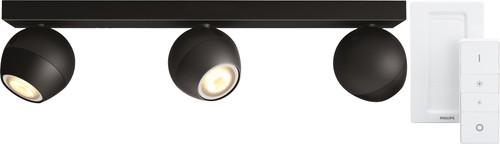 Philips Hue Buckram 3-Spot Noir avec Variateur Main Image