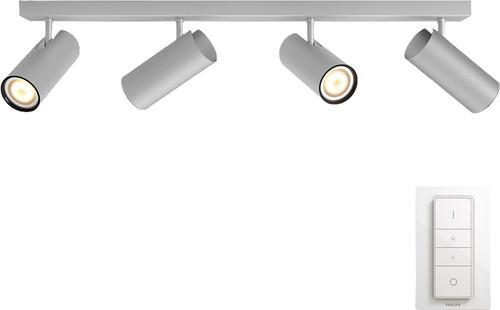 Philips Hue Buratto 4-Spot Grijs met Dimmer Main Image