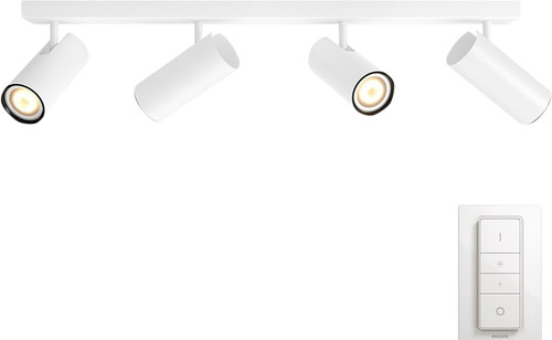 Philips Hue Buratto 4-Spot Wit met Dimmer Main Image