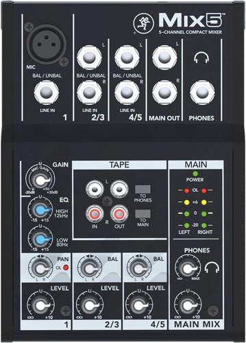 Mackie MIX 5 Main Image