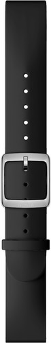 Withings 18mm Silicone Watchband Black Main Image