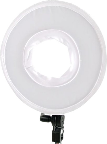 Falcon Eyes Bi-Color LED Ring lamp DVR-300DVC Main Image