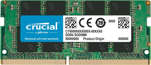 Crucial 16 Go SODIMM DDR4-2400 1 x 16 Go Main Image