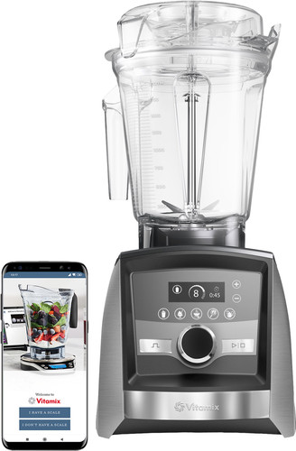 Vitamix Ascent A3500i Brushed Rvs Main Image