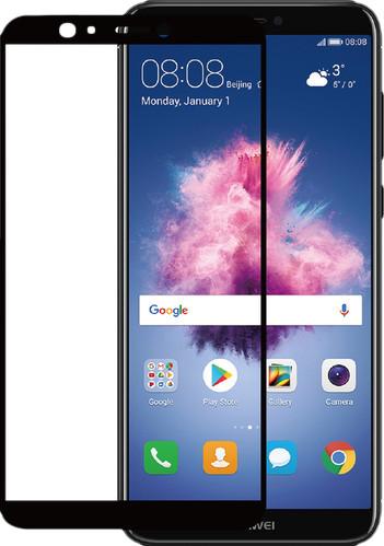 Azuri Verre Trempé Huawei P Smart Protège-écran Verre Noir Main Image