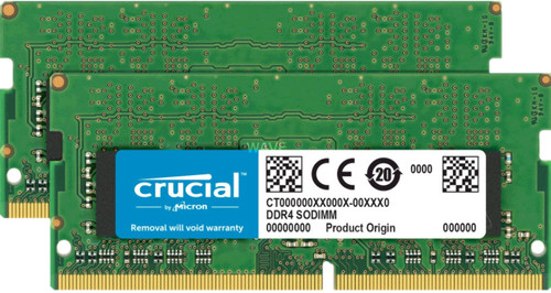 Crucial Apple 32 Go SODIMM DDR3-2400 Set de 2 x 16 Go Main Image