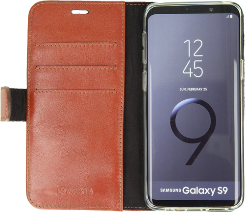 Valenta Booklet Classic Luxury Galaxy S9 Book Case Brown Main Image