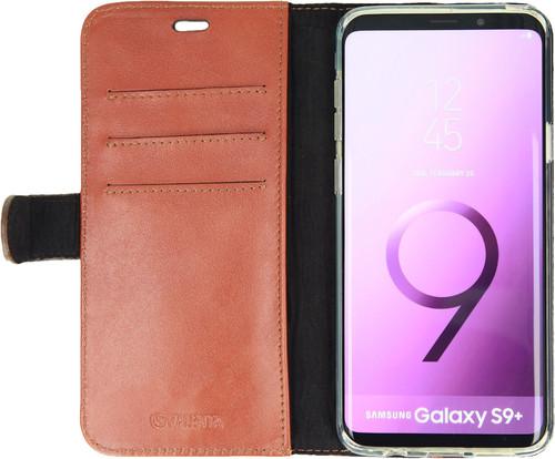 Valenta Booklet Classic Luxury Galaxy S9 Plus Book Case Brown Main Image