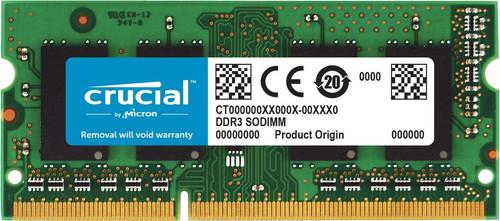 Crucial Apple 8 Go DDR3L-1866 SODIMM 1 x 8 Go Main Image