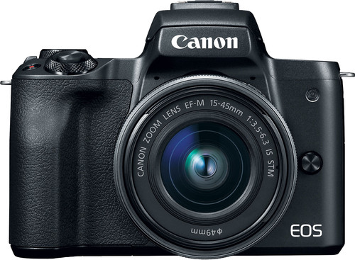 Canon EOS M50 Body Zwart + 15-45mm IS STM Main Image