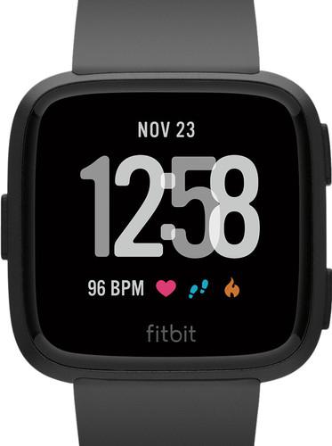 Fitbit Versa Noir/Noir Aluminium Main Image