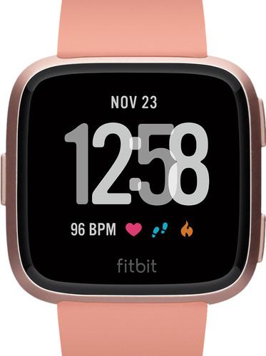 Fitbit Versa Peach/Rose Gold Aluminum Main Image
