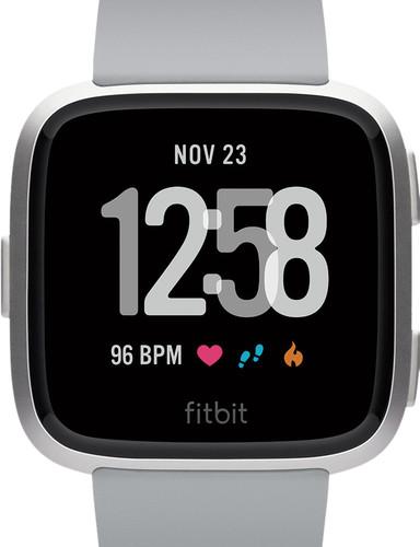 Fitbit Versa Aluminium Gris/Argent Main Image