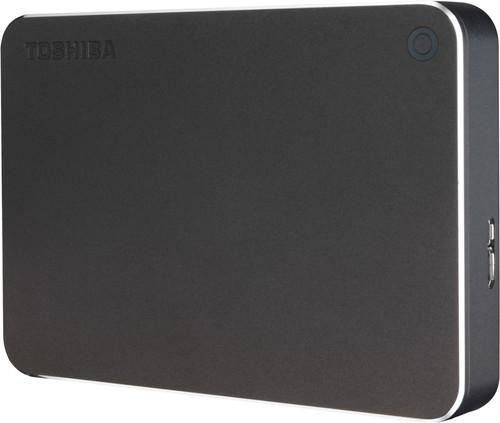 Toshiba Canvio Premium 2TB Dark Gray Main Image