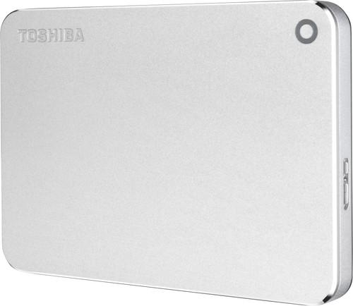 Toshiba Canvio Premium 1TB Silver Main Image