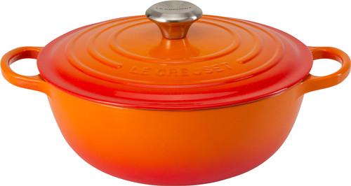 Le Creuset Marmite Poêle à Frire 32 cm Orange-rouge Main Image