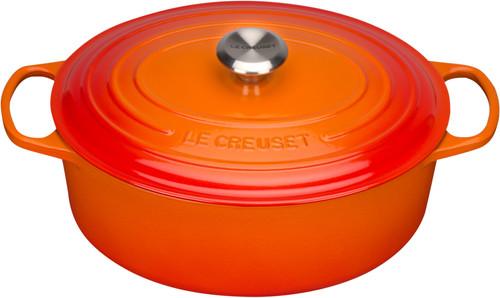 Le Creuset Ovale Braadpan 31 cm Oranje-rood Main Image