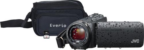 JVC GZ-R495BEU Black + memory card + bag Main Image