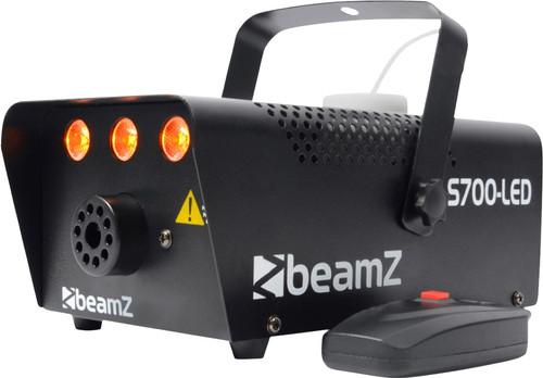 Beamz S700 LED Machine à fumée avec effets de flamme Main Image