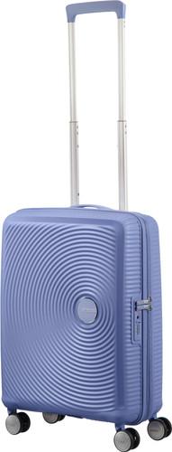 American Tourister Soundbox Expandable Spinner 55cm Denim Blue Main Image