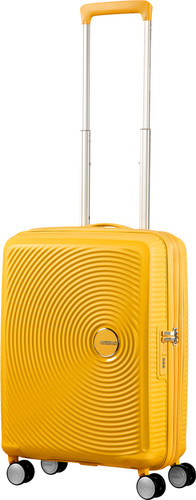 American Tourister Soundbox Expandable Spinner 55cm Golden Yellow Main Image