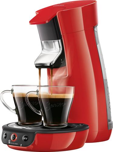 Philips Senseo Viva Café HD6563/80 Red Main Image