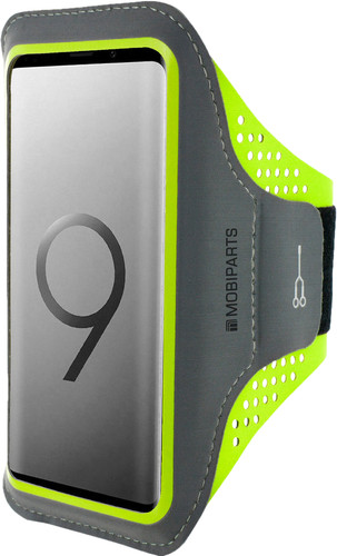 Mobiparts Comfort Fit Sportarmband Samsung Galaxy S9 Plus Groen Main Image