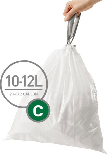 Simplehuman Waste bags Code C - 10-12 Liter (60 pieces) Main Image
