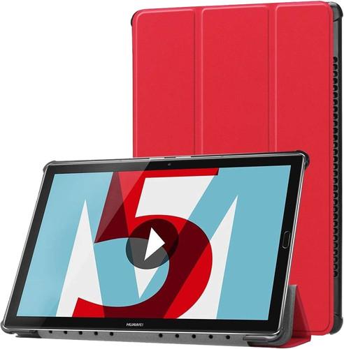 Just in Case Tri-Fold Huawei MediaPad M5 10/10 Pro Coque à rabat Rouge Main Image