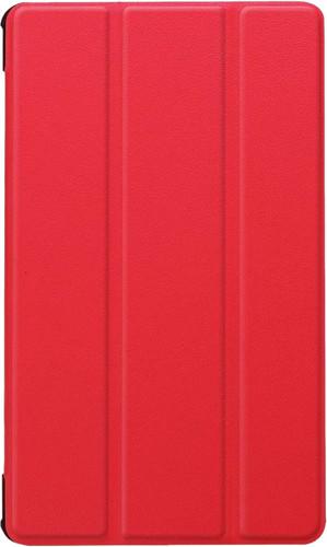 Just in Case Tri-Fold Huawei MediaPad M5 8 Book Case Red Main Image