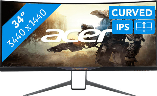 Acer Predator X34P Main Image