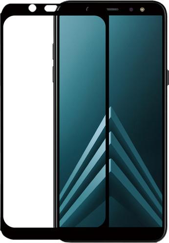Azuri Tempered Glass Samsung Galaxy A6 (2018) Screen Protector Glass Black Main Image