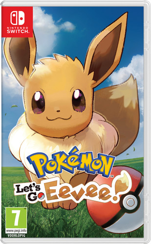 Pokémon Let's Go Eevee Switch Main Image