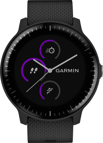 Garmin Vivoactive 3 Music Black Main Image
