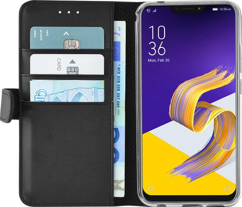 Azuri Wallet Magnetic Asus Zenfone 5 Book Case Black Main Image