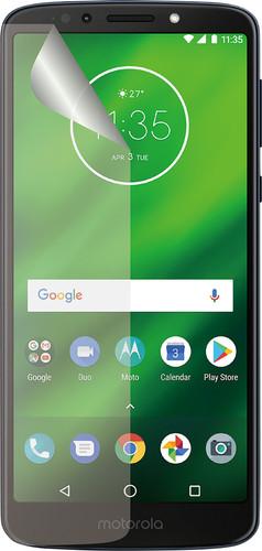 Azuri Motorola Moto G6 Play Protège-écran Plastique Lot de 2 Main Image