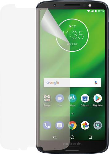 Azuri Motorola Moto G6 Plus Protège-écran plastique Lot de 2 Main Image