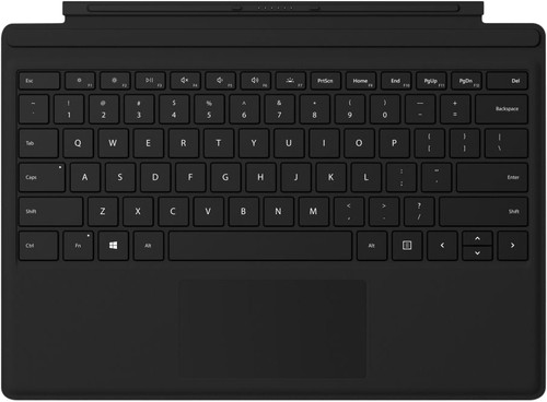 Microsoft Surface Go Type Cover AZERTY Black Main Image