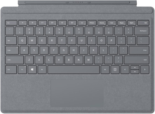 Microsoft Surface Go Type Cover AZERTY Gris Main Image