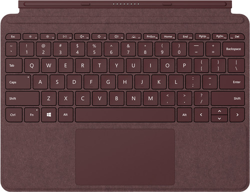 Microsoft Surface Go Type Cover AZERTY Rouge Main Image