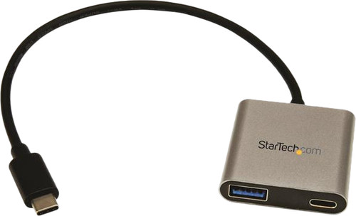 StarTech USB-C to USB A and USB C Hub with PowerDelivery Main Image